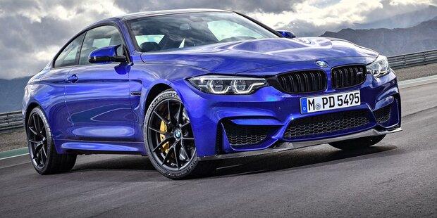 BMW schickt den M4 CS an den Start