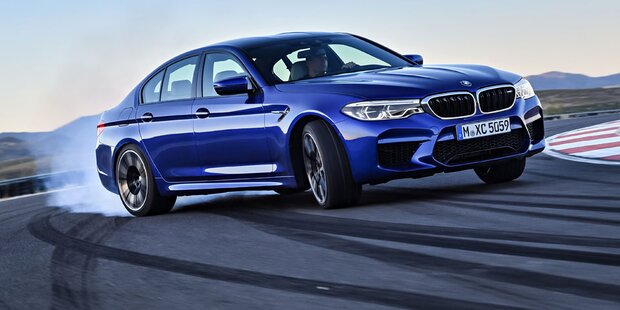 Neuer BMW M5 mit 600 PS und Allrad