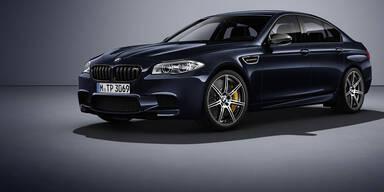 BMW bringt schärfsten M5 aller Zeiten