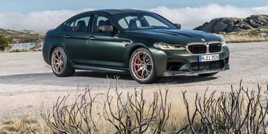 M5 CS: Stärkster Serien-BMW aller Zeiten startet