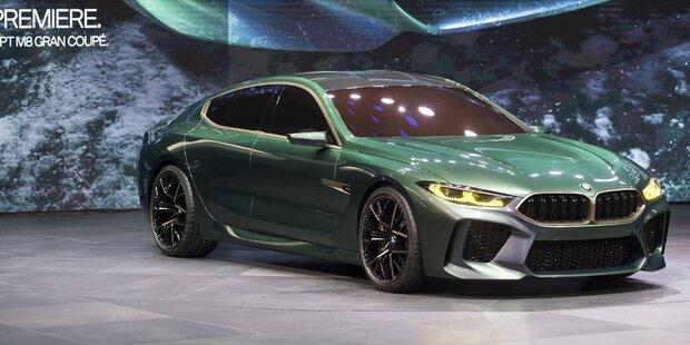 BMW zeigt das neue M8 Gran Coupé