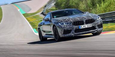 Neuer BMW M8 bekommt Rennsport-Anzeigen
