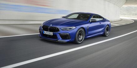 BMW M8 ist ein Beschleunigungsmonster