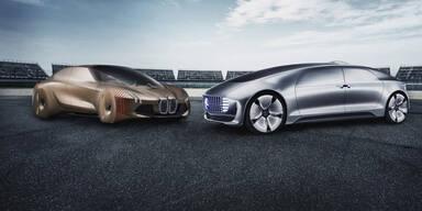 Robo-Autos: Allianz von Daimler/BMW fix