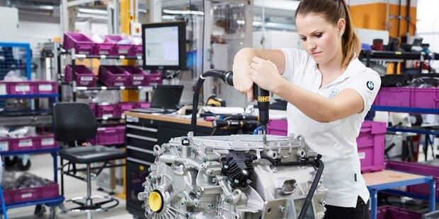 Über 1,3 Mio. BMW-Motoren aus Österreich