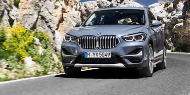 BMW verpasst dem X1 ein Facelift