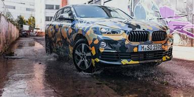 Neuer BMW X2 als Erlkönig unterwegs