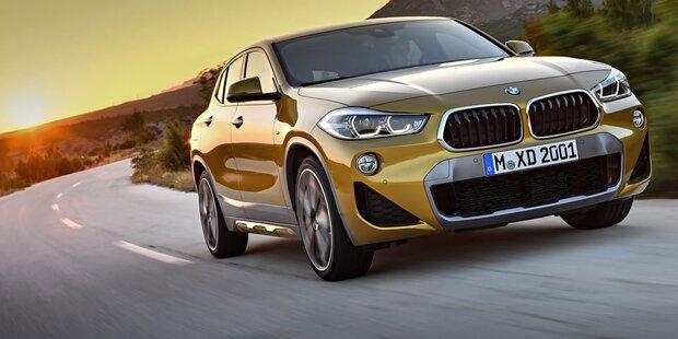 Das ist der brandneue BMW X2
