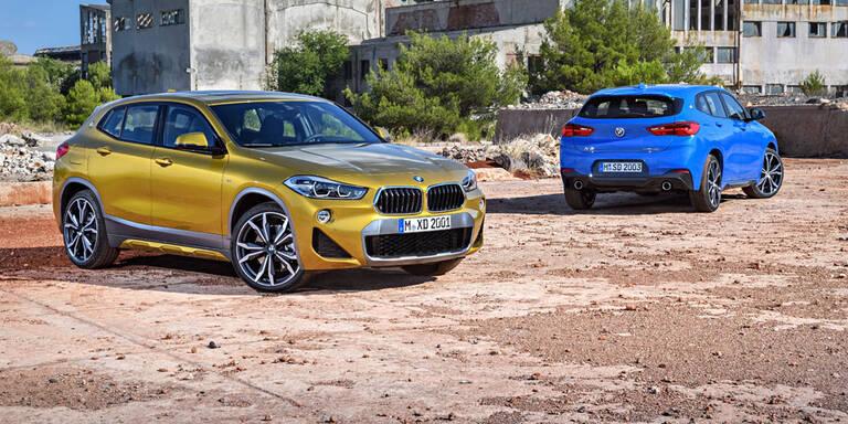 Neuer BMW X2 in Österreich bestellbar