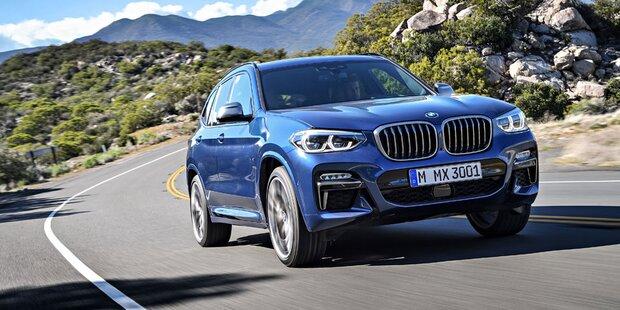 Alle Infos vom völlig neuen BMW X3