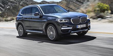 Neuer BMW X3 zum Start mit 3 Motoren