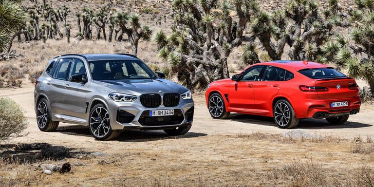 BMW greift mit X4 M und X3 M an