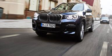 BMW X3 startet mit Plug-in-Hybrid