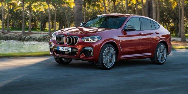 Das ist der brandneue BMW X4