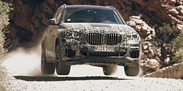 Hier fährt der völlig neue BMW X5 (2018)