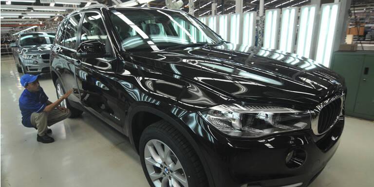 Verkaufsverbot für BMW X5 und Porsche Macan