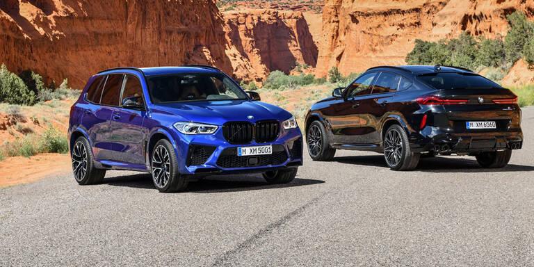 BMW greift mit neuem X5 M und X6 M an
