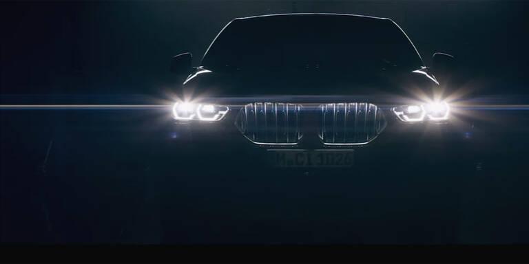 BMW zeigt den neuen X6 (2019)