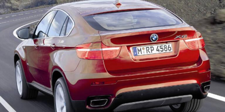 BMW präsentiert Sport-SUV X6