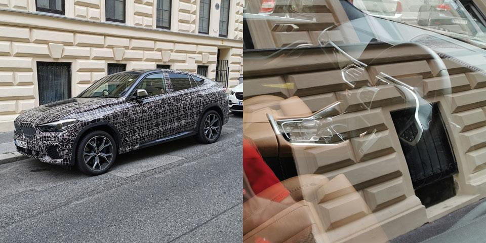 Bmw Erlkonig In Wien Erwischt Getarnter X6 2019