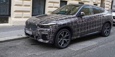 BMW X6-Erlkönig (2019) in Wien erwischt