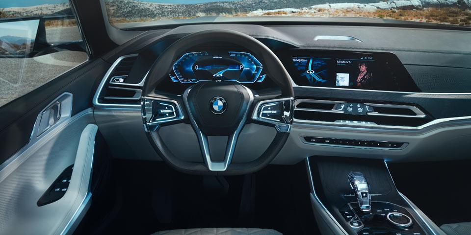 Bmw X7 Luxus Suv Auf 7er Basis Alle Infos Und Video Von Der Iaa