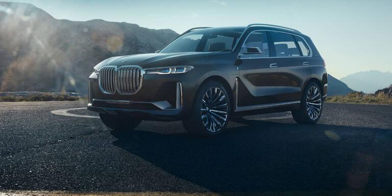 BMW X7: Luxus-SUV auf 7er-Basis