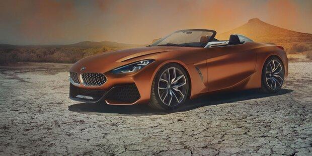 So scharf wird der neue BMW Z4