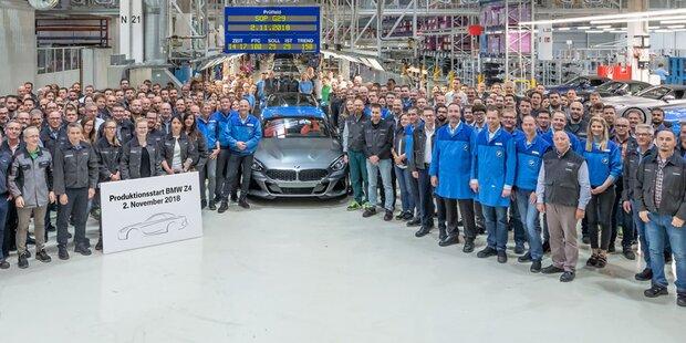 Erster Z4 in Graz vom Band gelaufen