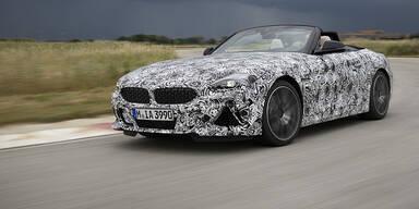 Hier fährt der neue BMW Z4 (Prototyp)