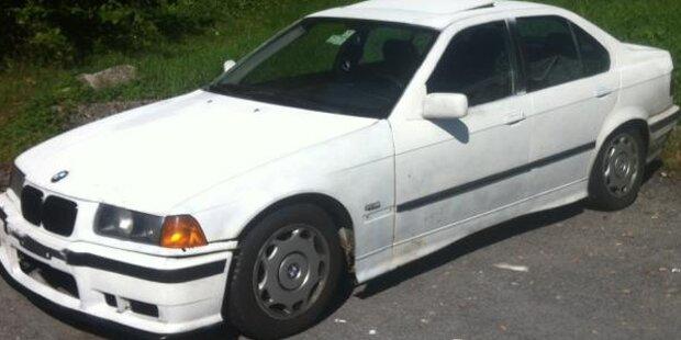 Raser narrte Polizei und entsorgte BMW