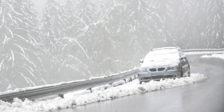 Halber Meter Neuschnee in den Bergen