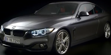 BMW präsentiert das neue 4er Coupé
