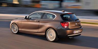 Weltpremiere des 1er BMW mit 3 Türen