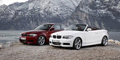 Mini-Facelift für BMW 1er Cabrio & Coupé