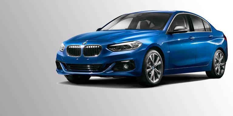BMW stellt die 1er Limousine vor