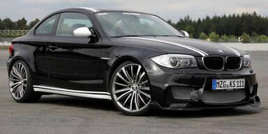 BMW 1er M-Coupé mit 410 PS