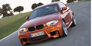 Weltpremiere des BMW 1er M Coupé