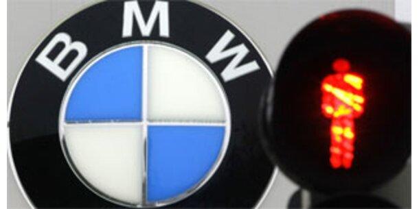Bei BMW steht die Produktion still