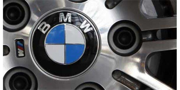 BMW zurück in den schwarzen Zahlen
