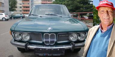 BMW 2800 von Niki Lauda auf eBay