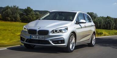 BMW Active Tourer mit Plug-in-Hybrid