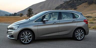 BMW verrät Preise des 2er Active Tourer