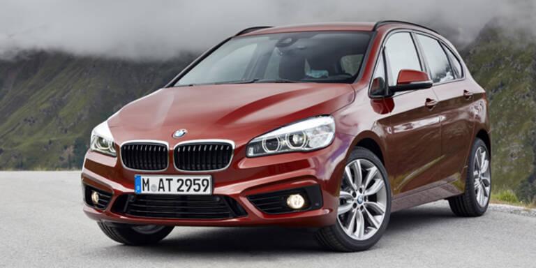 BMW 2er Active Tourer mit 95 PS Diesel