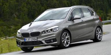 BMW 2er Active Tourer mit Allrad startet