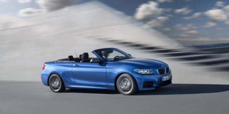 Startschuss für das BMW 2er Cabrio