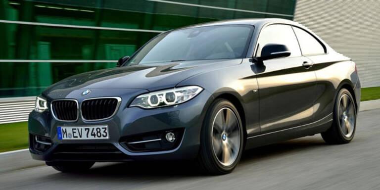 BMW 2er Coupé jetzt auch mit Dreizylinder