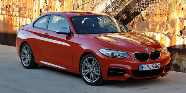 BMW 2er Coupé feiert Weltpremiere