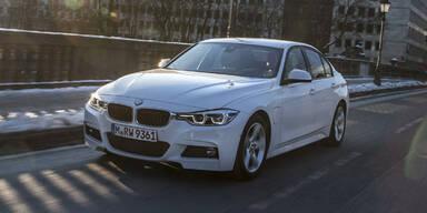 BMW 3er mit Plug-in-Hybrid startet