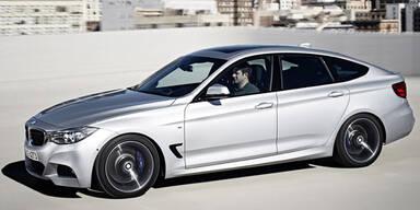 Neue Dieselversionen für den BMW 3er GT
